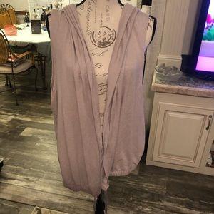 Victoria secret vsx sport tunic zipper back vest M